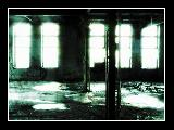 Immagine abbandonato Atmosfera horror in stabilimento industriale abbandonato