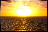Classico tramonto sul mare