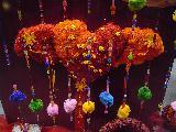 Immagine mano Cuori arancioni realizzati a mano
