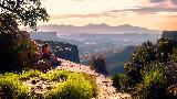 Immagine innamorati Panorama mozzafiato ammirato da innamorati