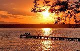 Immagine giorno Tramonto al molo per salutare il giorno